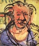 Self Portrait I 1942 - Hans Hofmann