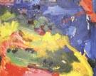 Landscape 1941 - Hans Hofmann