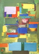 Morning Mist 1958 - Hans Hofmann