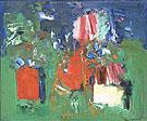 Summer Bliss 1960 - Hans Hofmann