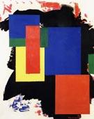 Heraldic Call 1963 - Hans Hofmann