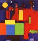 Rising Moon 1965 - Hans Hofmann