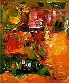In the Wake of the Hurricane 1960 - Hans Hofmann