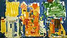 Studio No 2 in Blue 1954 - Hans Hofmann
