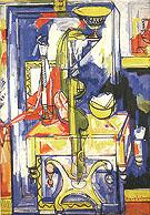 Table and Vases the Magic Mirror 1935 - Hans Hofmann