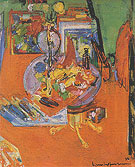 Red Table 1938 - Hans Hofmann
