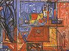 Still Life with Book 1941 - Hans Hofmann