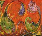 Dawn Recto 1942 - Hans Hofmann
