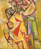 The Chair 1944 - Hans Hofmann