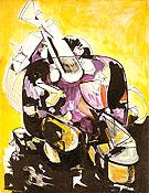 Seated Woman IV 1944 - Hans Hofmann