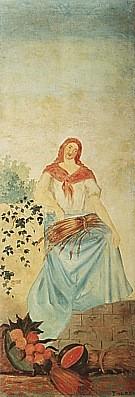 Summer c1860 - Paul Cezanne