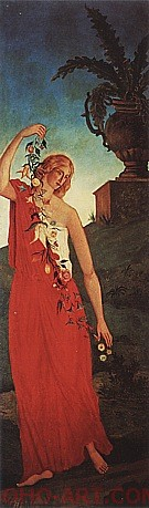 Spring c1860 - Paul Cezanne