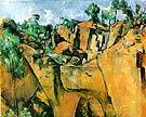 Bibemus Quarry 1895 - Paul Cezanne