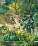 House of Pere Lacroix - Paul Cezanne