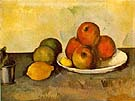 Still Life with Apples 1890 - Paul Cezanne
