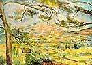 Mont Sainte Victoire c1885 - Paul Cezanne
