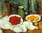 Still Life with Cherries - Paul Cezanne