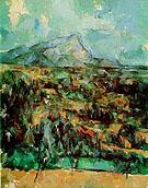 Mont Sainte Victoire 1900 1 - Paul Cezanne