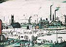 An Industrial Town 1944 - L-S-Lowry