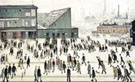 The Football Match - L-S-Lowry