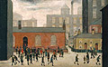 Coming Out of Shool 1927 - L-S-Lowry
