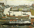 River Wear at Sunderland 1961 - L-S-Lowry