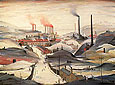 Industrial Panorama 1953 - L-S-Lowry