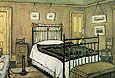 The Bedroom Pendlebury 1940 - L-S-Lowry