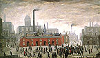 An Accident 1926 City of Manchester - L-S-Lowry