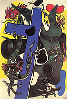 The Forest 1942 - Fernand Leger