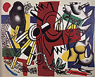 Good Bye New York 1946 - Fernand Leger