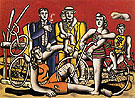 Leisure 1944 - Fernand Leger