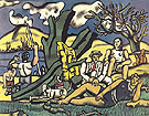 The Country Outing First State 1952 - Fernand Leger
