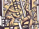 Construction Workers 1951 - Fernand Leger