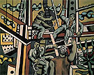 The Construction Workers 1951 - Fernand Leger