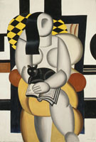 Woman with Cat 1921 - Fernand Leger