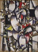 Nude Model in the Studio c1912 - Fernand Leger
