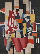 The Typographer 1918 - Fernand Leger