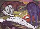 The Shepherds 1912 - Franz Marc