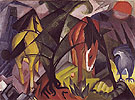 Horses and an Eagle 1912 - Franz Marc