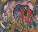 Mare with Foals 1912 - Franz Marc