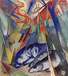 Sleeping Animals 1913 - Franz Marc