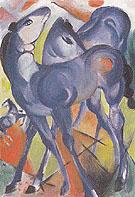 Blue Foals 1913 - Franz Marc