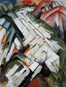 The Stony Path 1911 - Franz Marc