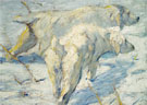Siberian Dogs in the Snow 1909 - Franz Marc