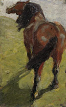Study of a Horse 1908 - Franz Marc