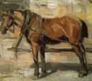 Small Study of a Horse I 1905 - Franz Marc