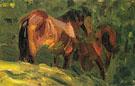 Sketch of Horse II 1906 - Franz Marc