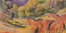 Large Landscape I 1909 - Franz Marc