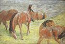 Grazing Horses I 1910 - Franz Marc